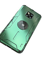 cheap -Case For Huawei P30  P30 Pro P40lite P40 P40 Pro  Mate 20 20 pro 30 30 Pro Nova 5 5Pro 6(5G) 6se 7 7ProShockproof Back Cover Solid Colored Silicone  Metal