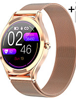 cheap -JSBP HMK10 Smart Watch BT Fitness Tracker Support Notify Full Touch Screen/Heart Rate Monitor Sport Stainless Steel Bluetooth Smartwatch Compatible IOS/Android Phones
