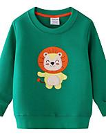 cheap -Kids Boys' Street chic Animal Long Sleeve Hoodie & Sweatshirt Green
