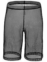 cheap -Men's Mesh Boxers Underwear - Normal Low Waist White Black Red S M L