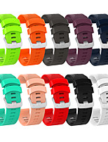 cheap -Watch Band for Garmin Forerunner245 Garmin Sport Band Silicone Wrist Strap