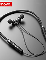 cheap -Lenovo Bluetooth5.0 Wireless Headset Magnetic Neckband Earphones IPX5 Waterproof Sport Earbud