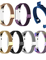 cheap -For Fitbit Alta / Alta HR / Fitbit Ace Stainless Steel Watch Band Strap