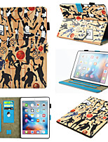 cheap -Case For Apple iPad Mini 3 2 1  iPad Mini 4  iPad Mini 5 360 Rotation  Shockproof  Magnetic Full Body Cases Gradient  Animal  Marble PU Leather  TPU