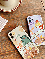 cheap -Cartoon Dinosaur Couple Phone Cases For iphone 7 8 plus SE 2020 11 Pro X XS Max XR Cute Dragon Soft Back Cover Case Funda Capa