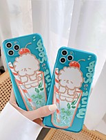 cheap -Case For APPLE  iPhone 7 8 7plus 8plus  XR XS XSMAX  X 11 11Pro 11ProMax Translucent Pattern Back Cover Word Phrase Cartoon TPU