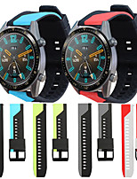 cheap -Sport Silicone Wrist Strap Watch Band for Huawei Watch GT 2e / Honor Magic Watch 2 46mm / GT Active / Watch 2 Pro / GT2 46mm Replaceable Bracelet Wristband