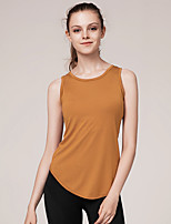 cheap -Women's Blouse Solid Colored Cut Out Round Neck Tops Slim Basic Top White Black Yellow