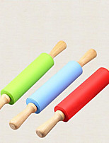 cheap -Rolling Pin Kitchen Tools Accessories Silicon Rubber Tools Rolling Pin Noodles