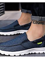 cheap -Men's Summer Daily Sneakers Mesh Blue / Light Grey