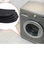 cheap -Washing Machine Anti-Vibration Pad Mat Non-Slip Shock Pads Mats Refrigerator 4pcs/set Kitchen Bathroom Accessories Bathroom Mat