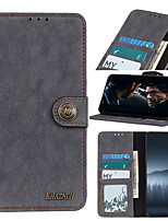 cheap -Case For Samsung Galaxy S8 S8 Plus S9 S9 Plus S10 S10 PLUS S10E S10 5G S20S20 Plus S20 Ultra S10 LITE A91 Card Holder Flip Magnetic Full Body Cases  PU Leather TPU retro stitch solid color