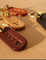 cheap -Keychain Handmade Alphabet Shape Ring Jewelry Black / Blushing Pink / Orange For Gift Daily Casual / Daily