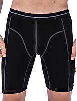 cheap -Men's Basic Boxers Underwear - Plus Size Mid Waist White Black Royal Blue L XL XXL