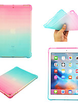 cheap -Case For Apple iPad Air  iPad (2018)  iPad Air 2 iPad(2017) iPad Pro9.7 iPad5 6 7 8 9  360 Rotation  Shockproof  Magnetic Back Cover Color Gradient TPU