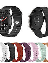 cheap -Sport Silicone Wrist Strap Watch Band for Amazfit GTR 47mm / Amazfit Stratos 3 / Amazfit Stratos 2 2S / Amazfit Pace 1 / Xiaomi Mi Watch Color Replaceable Bracelet Wristband