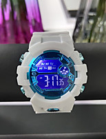 cheap -Kids Digital Watch Digital Modern Style Sporty Casual Calendar / date / day Black / White / Green Digital - Black Blue Blushing Pink / Chronograph / Compass / Large Dial