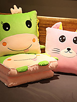 cheap -Kid's Adults' Kigurumi Pajamas Stuffed Toy Blanket Unicorn Onesie Pajamas Flannelette Green Cosplay For Men and Women Boys and Girls Animal Sleepwear Cartoon Festival / Holiday Costumes / 1 Blanket