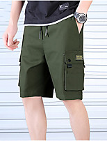 "cheap -Men's Hiking Shorts Hiking Cargo Pants Hiking Cargo Shorts Summer Outdoor 10"" Breathable Quick Dry Soft Sweat-wicking Shorts Bottoms Black Army Green Khaki Camping / Hiking Hunting Fishing M L XL XXL"