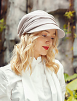 cheap -Headwear Casual Cotton Hats with Ruching 1pc Casual / Daily Wear Headpiece