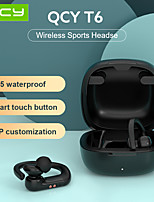 cheap -QCY T6 Wirless Sport Bluetooth 5.0 Earphones Smart touch and IPX5 Waterproof