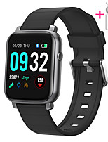 cheap -JSBP HF1 Men Women Smartwatch Smart Watch BT Fitness Tracker Support Notify Full Touch Screen/Heart Rate Monitor Sport Stainless Steel Bluetooth Smartwatch Compatible IOS/Android Phones