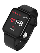 cheap -B57t Smart Watch Body Temperature Heart Rate Fitness Tracker Bracelet Waterproof Sport Pedometer Blood Pressure Smartwatch