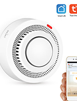 cheap -Wifi Smoke Detector Intelligent Fire Alarm Sensor Wireless Security System Intelligent Life Your Control Application Home Kitchen Smart Home