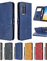 cheap -Case For Huawei P40 P40Pro Plus P30 P30Lite  Leather Flip Case for Funda Huawei Honor 30 30Pro 9A 9S 9C 20i 10i 10Lite Case Huawei Y5P Y6P Y7P Y8P Case Cover