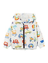 cheap -Kids Boys' Basic Geometric Print Long Sleeve Blouse Rainbow