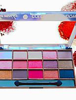 cheap -15 Colors Eyeshadow Matte Eye EyeShadow Waterproof lasting Long Lasting Daily Makeup Party Makeup Cosmetic Gift