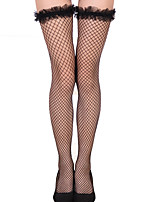 cheap -Women's Thin Stockings - Transparent / Sexy Lady 10D Black One-Size