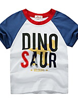 cheap -Kids Boys' Street chic Geometric Animal Short Sleeve Tee Yellow