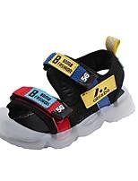 cheap -Girls' Comfort Canvas Sandals Big Kids(7years +) Black / Beige Summer