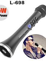 cheap -AT-698 Wireless Karaoke Microphone Bluetooth Speaker 2-in-1 Handheld Sing & Recording Portable KTV Player for iOS/Androi
