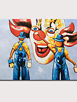 cheap -Mintura Large Size Hand Painted Modern Abstract Oil Paintings on Canvas Pop Art Wall Pictures For Home Decoration No Framed