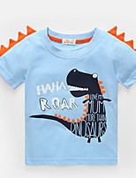 cheap -Kids Boys' Street chic Animal Short Sleeve Tee Blue