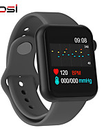 cheap -Smart Watch Women Men Smartwatch For Android IOS Electronics Smart Clock Fitness Tracker Silicone Strap Smart-watch