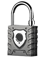 cheap -Intelligent Fingerprint Padlock Large Outdoor Waterproof Lock Warehouse Door Dormitory Logistics Vehicle Anti-Theft Password Loc