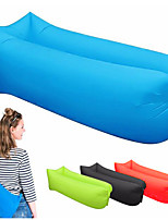 cheap -Air Bed Outdoor Camping Lightweight Wearable Reduces Chafing Seamless 100% Polyester for 1 person Beach Traveling Picnic Spring Summer Black Yellow Red
