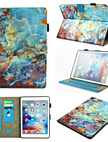 cheap -Case For Apple iPad Air  iPad (2018)  iPad Air 2 iPad(2017) iPad Pro9.7 iPad5 6 7 8 9  360 Rotation  Shockproof  Magnetic Full Body Cases Color Gradient  Animal  Marble PU Leather  TPU