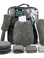 cheap -Car Wash Gift Cleaning Tool Set 9 PCS Car Wash Cleaning Tool Kit Set Ultrafine Fiber Car Wash Supplies Tools