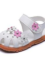 cheap -Boys' Sandals Comfort PU Little Kids(4-7ys) White / Fuchsia / Pink Summer