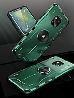 cheap -Case For Huawei P30  P30 Pro P40lite P40 P40 Pro  Mate 20 20 pro 30 30 Pro Nova 5 5Pro 6(5G) 6se 7 7ProShockproof with Stand Back Cover Solid Colored Silicone  Metal