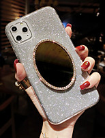 cheap -Suitable For iPhone11Pro Max XS Max XR 6 7 8Plus SE 2020 Glitter TPU With Makeup Mirror Soft Phone Case