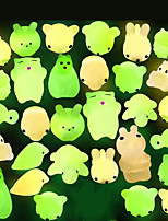 cheap -Squishy Squishies Squishy Toy Squeeze Toy / Sensory Toy Animal Series Mini Glow in the Dark Stress and Anxiety Relief Mochi For Kid's Adults' Boys and Girls Gift Party Favor 30 pcs