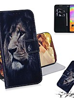 cheap -Case For Samsung Galaxy Galaxy S10 / Galaxy S10 Plus / Galaxy S10 E Wallet / Card Holder / with Stand Full Body Cases Animal PU Leather / TPU