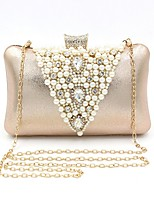 cheap -Women's Bags Straw Evening Bag Crystals / Beading for Event / Party Champagne / Wedding Bags