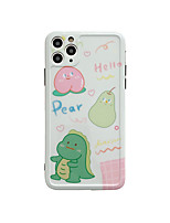 cheap -Case For Apple iPhone 11 / iPhone 11 Pro / iPhone 11 Pro Max IMD / Pattern Back Cover Food / Cartoon TPU