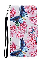 cheap -Case For Samsung Galaxy A01 A11 A21 A31 A41 A51 M10 A10 A20 A30 A40 A20E A50 A30S A70 Wallet Card Holder with Stand Full Body Cases Butterfly PU Leather